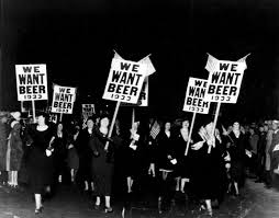 1930s. Prohibition era. USA