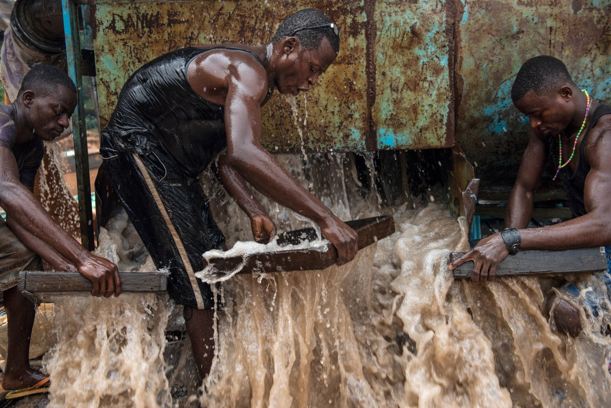 inside the democratic republic of congo�s diamond mines
