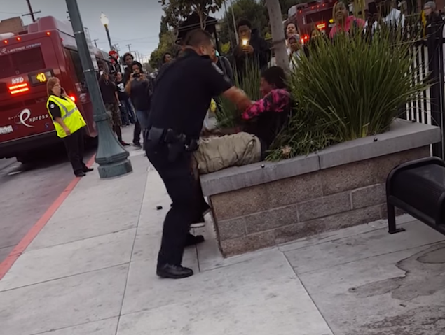 Stockton cop hits teen with baton for jaywalking