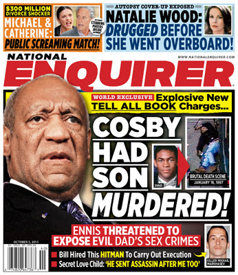 Bill Cosby national enquirer cover