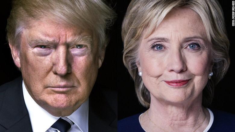 Hillary Clinton and D